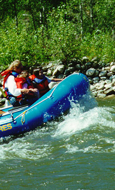 Rafting in Montana and Yellowstone National Park