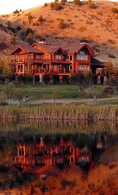 Stay in a ranch house in Montana and Yellowstone National Park