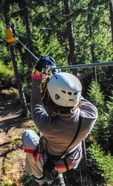 Zip Lining in Montana and Yellowstone National Park